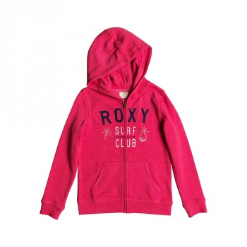 Roxy Roxy Girls The Endless Round Z/Hoody Rouge Red