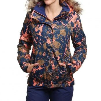 Roxy Roxy Jet Ski Snow Jacket Amazone Flowers