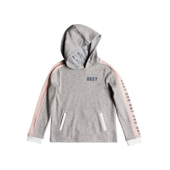 Roxy ROXY JUST SMILE-HOODIE FOR GIRLS 8-16-GREY
