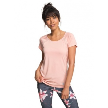 Roxy ROXY LIVE FOREVER-TECHNICAL T-SHIRT FOR WOMEN-PINK
