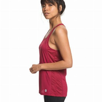 Roxy ROXY LIVE FOREVER-TECHNICAL VEST TOP FOR WOMEN-RED