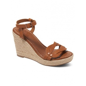 Roxy ROXY LYDIA-WEDGE SANDALS FOR WOMEN-BROWN