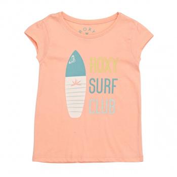 Roxy ROXY MOID SURF CLUB T-SHIRT TROPICAL PEACH