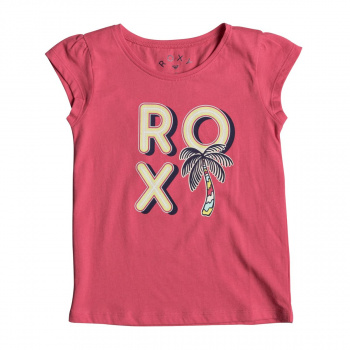 Roxy ROXY MOIDTI PALM T-SHIRT ROUGE RED