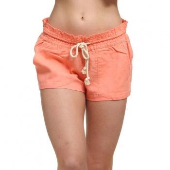 Roxy Roxy Oceanside Linen Shorts Lady Pink