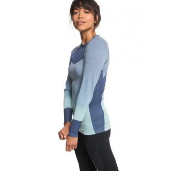 Roxy ROXY PASSANA 2-TECHNICAL LONG SLEEVE TOP FOR WOMEN-BLUE