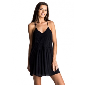 Roxy ROXY PRISM PATTERN-STRAPPY DRESS FOR WOMEN-BLACK
