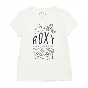 Roxy ROXY SEE YOU AGAIN NIGHTSURF T-SHIRT MARSHMALLOW