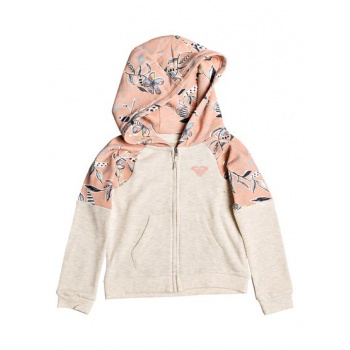 Roxy ROXY SKY AND SAND-ZIP-UP HOODIE FOR GIRLS 2-7-PINK