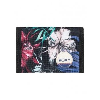 Roxy ROXY SMALL BEACH-HOOK & LOOP WALLET FOR WOMEN-BLACK