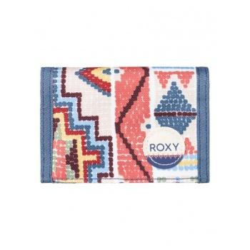 Roxy ROXY SMALL BEACH-HOOK & LOOP WALLET FOR WOMEN-ORANGE