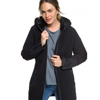 Roxy ROXY SNOW ESCAPE-PADDED PARKA FOR WOMEN-BLACK