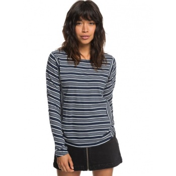 Roxy ROXY SONG FOR YOU-LONG SLEEVE TOP FOR WOMEN-BLUE