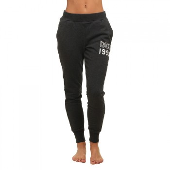 Roxy Roxy Sticked With Me Track Pants Black Heather