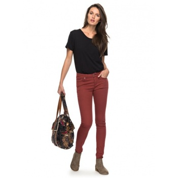 Roxy ROXY SUNTRIPPERS COLORS-SKINNY FIT JEANS FOR WOMEN-RED