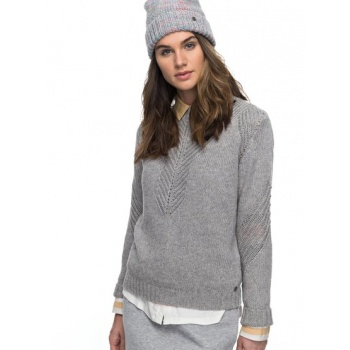 Roxy ROXY TAKE OVER THE WORLD-JUMPER FOR WOMEN-GREY