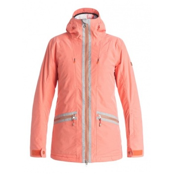 Roxy ROXY TORAH BRIGHT ASCEND-SNOW JACKET FOR WOMEN-PINK