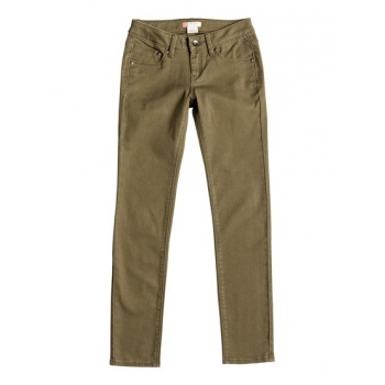 Roxy ROXY TRACY'S WATER-SLIM FIT JEANS FOR GIRLS-BROWN