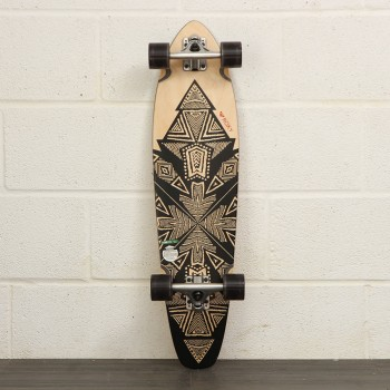 Roxy Roxy Tribe Mid Length Longboard 34 Inch Skateboard