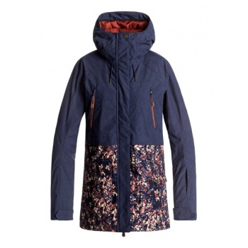Roxy ROXY TRIBE-SNOW JACKET FOR WOMEN-BLUE