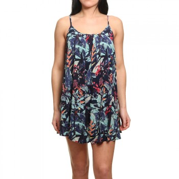 Roxy Roxy Windy Fly Away Printed Dress Dress Blues