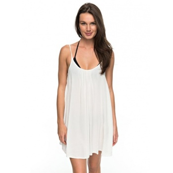 Roxy ROXY WINDY FLY AWAY-STRAPPY DRESS FOR WOMEN-WHITE