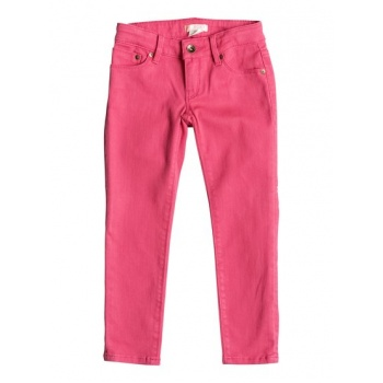 Roxy ROXY YELLOW SUN-SLIM FIT JEANS FOR GIRLS 2-7-PINK