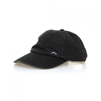 Rusty Rusty Solid Adjustable Cap Worn Black
