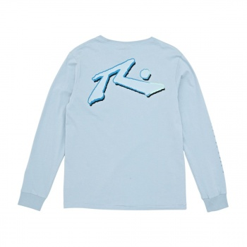 Rusty RUSTY STOCK LONG SLEEVE T-SHIRT LONDON BLUE