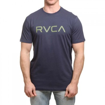 RVCA RVCA Big RVCA Tee Classic Indigo