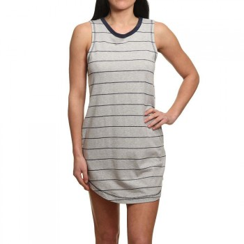 RVCA RVCA Byrdie Dress Grey Heather