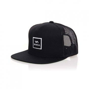 RVCA RVCA VA All The Way Trucker Cap Black