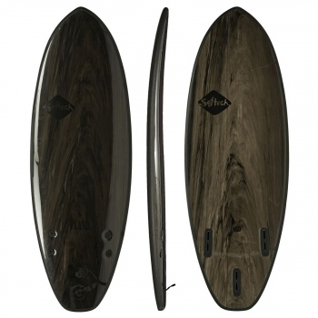 Softech SOFTECH FLASH PERFORMANCE FCSII SURFBOARD BLACK MARBLE