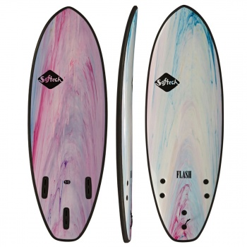 Softech SOFTECH FLASH PERFORMANCE FCSII SURFBOARD COLOUR MARBLE