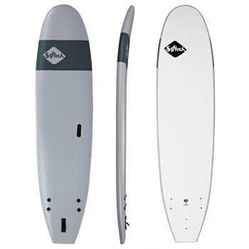 Softech SOFTECH HANDSHAPED ORIGINAL FUNBOARD SURFBOARD GREY