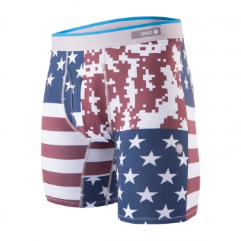 Stance STANCE DIGI CAMO FLAG BOXERS RED