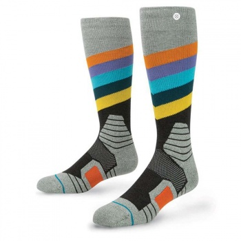 Stance Stance Golden Veins Merino Snow Socks Black