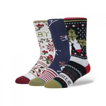 Stance Stance Holiday 3 Pack Socks Multi