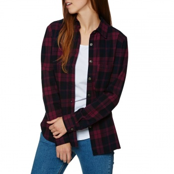Swell SWELL JOSIE CHECK FLANNEL SHIRT RED
