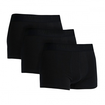 Swell SWELL MEN'S BOXERS 3 PACK  BLACK