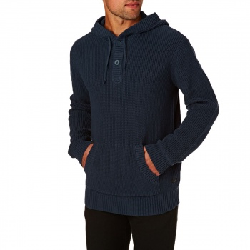 Swell SWELL SEAPORT KNITTED SWEATER  NAVY