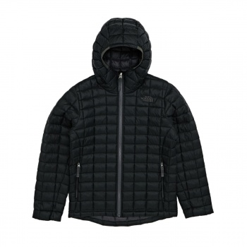 The North Face THE NORTH FACE BOY'S THERMOBALL HOODIE JACKET  TNF BLACK