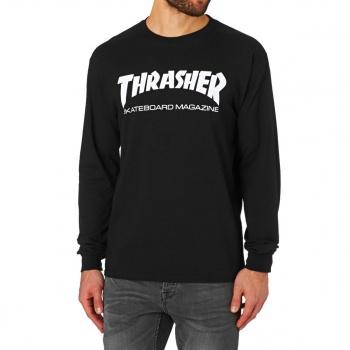 Thrasher THRASHER SKATE MAG LONG SLEEVE T SHIRT BLACK
