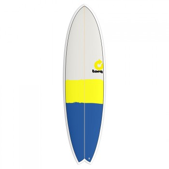 Torq Torq Mod Fish Surfboard 6FT 10 New Classic Stripe
