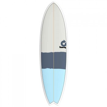 Torq Torq Mod Fish Surfboard 6FT 3 New Classic Stripe