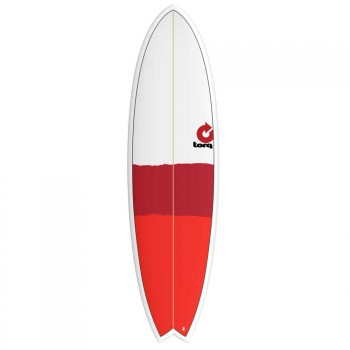 Torq Torq Mod Fish Surfboard 6FT 6 New Classic Stripe