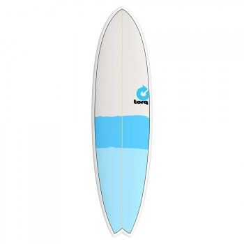 Torq Torq Mod Fish Surfboard 7FT 2 New Classic Stripe