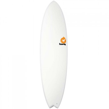 Torq Torq Mod Fish Surfboard 7FT 2 White
