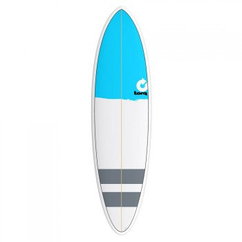 Torq Torq Mod Fun Surfboard 6FT 8 New Classic Stripe