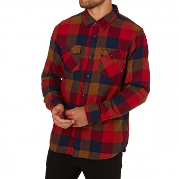 Vans VANS BOX FLANNEL CHILI PEPPER FLANNEL SHIRT CHILI PEPPER/TOFFEE